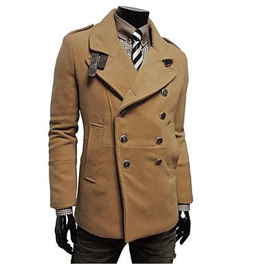 Men's Fashion Double Breasted Slim Blazer
