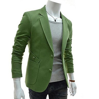Men's Spell Color Pocket Suit