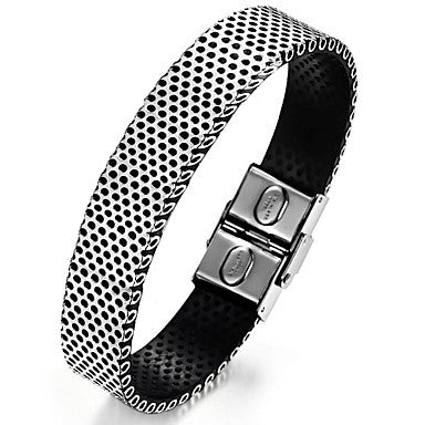 Retro Punk Men's Charm Stainless Steel Bracelet (1 Pc)