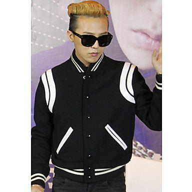 Men's Trendy Baseball Jacket Coat