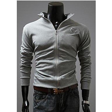 Men's Stand Collar Sweater