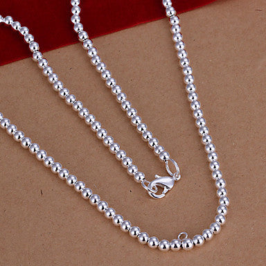 (1 Pc)European (Bird) White Copper Strands Necklace