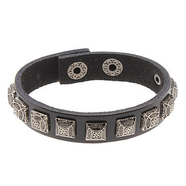 Nations Style Leather Bracelet
