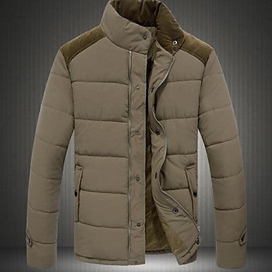 Men's Fashion New Collar Leisure Coat