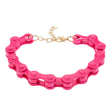(1 Pc)Fashion Unisex Multicolor Alloy Tennis Bracelet