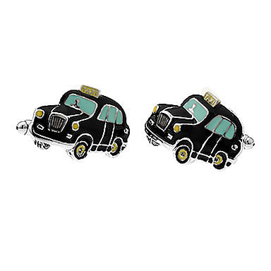 Men's Black Car Toy Cufflinks(2 PCS)