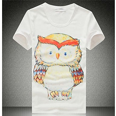 Men's Casual Print T-Shirts