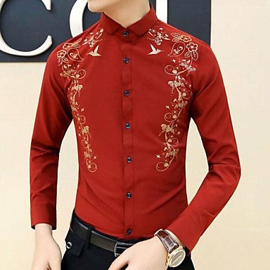 Men's The New Spring Korean Shirts