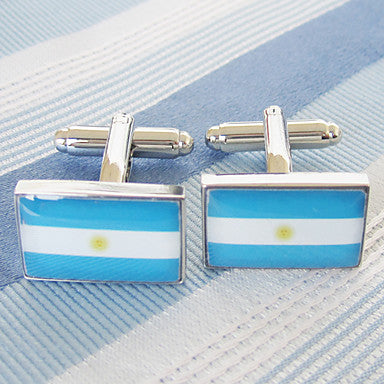 Men¡®s National Flag Alloy Cufflinks(1 Pair)