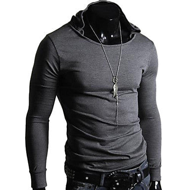 Men's Fashion Leisure Classic Hooded T Shirt