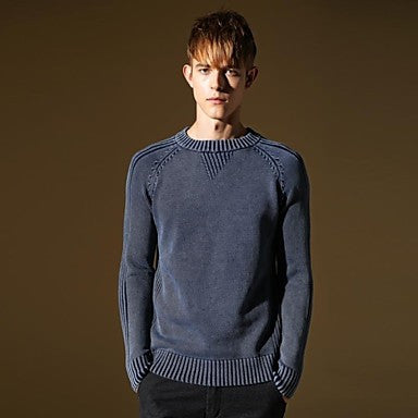 Men's Pullover Casual Long Sweater
