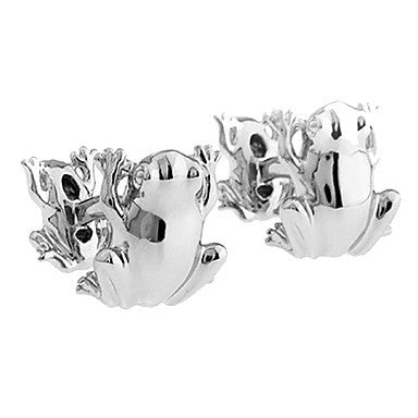 Men's Frog Animal Cufflinks(2 PCS)
