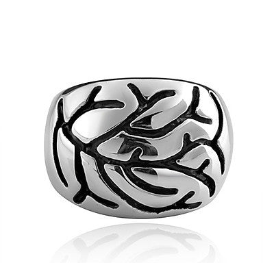 Fashion Branch Pattern Men's Statement Ring(1 Pc)