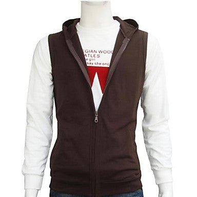 Men's Casual Sports Hoodie Vest