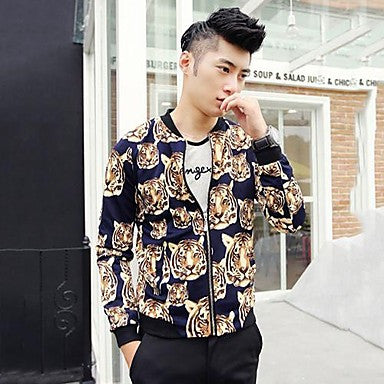 Men's Sport Animal Print Jacket