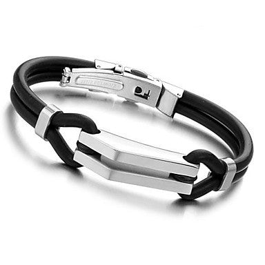 Sports Cuff Jewelry Bracelets190mm 316L Michael Wrap Stainless Steel Bracelet Bangle Men Jewelry