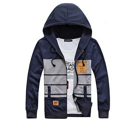 Men's Fashion with A Hood Hoodies Coat