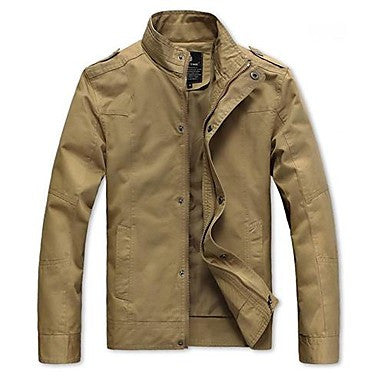 Men's Multi Color Thickening Jacket