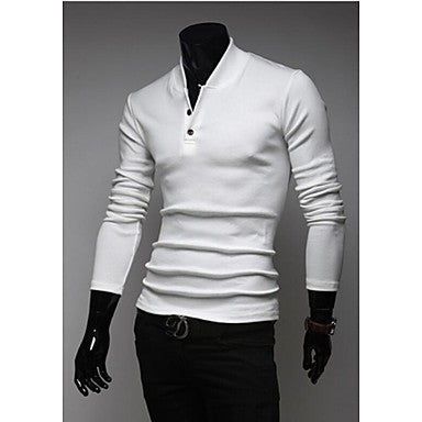 Men's Collar Set of Cultivate One's Morality Business And Leisure Travelers Sweater
