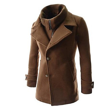 Men's Casual Fashion Fake Two Pieces Coat