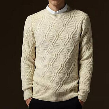 Men's Cotton Warm Sweater
