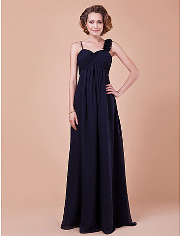 A-line Sweetheart Floor-length Chiffon Mother Of The Bride Dress