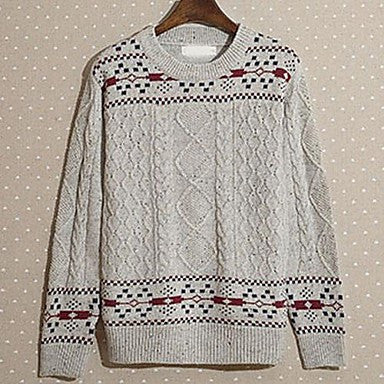Men's New Tide Folk Style Casual Sweaters All-Match Sweater