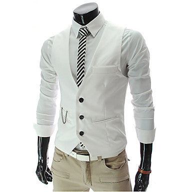 Men's V Neck Jacket