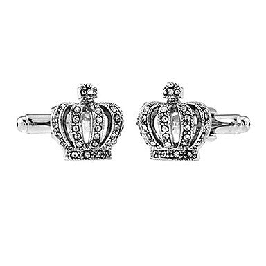 Men's Crown Cufflinks(2 PCS)