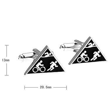 Men's Triangle Cufflinks(2 PCS)