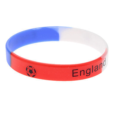(1 Pc)Fashion Unisex Multicolor Silicon ID Bracelet