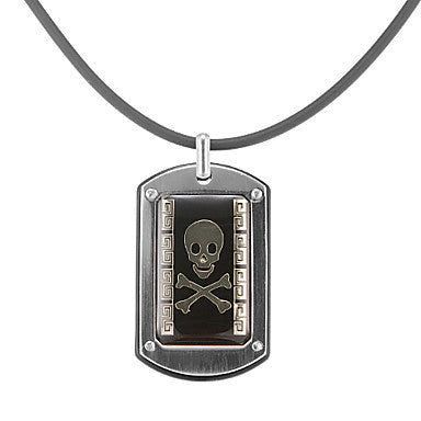Fashion Skull Pattern Men's Pendant Necklace(1 Pc)