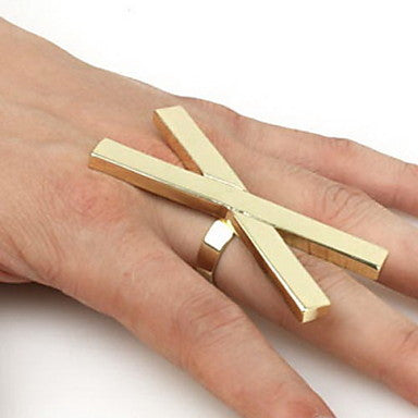 Fashion X Ring(Random Color,Adjustable)