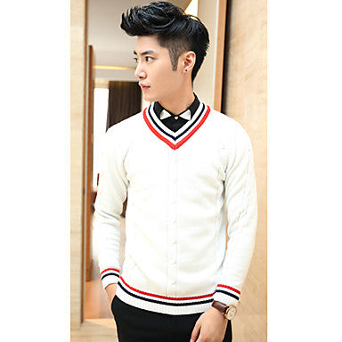Men's Fashion Long Sleeve Knitted Sweater