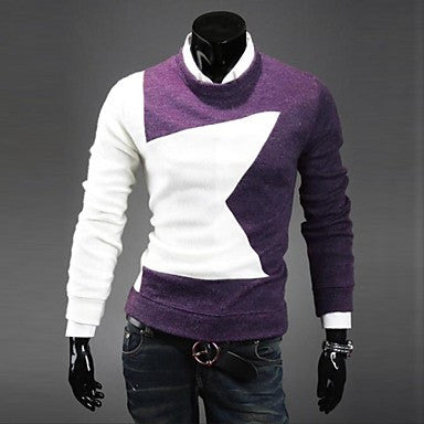 Men's Star Spell Color Sweater