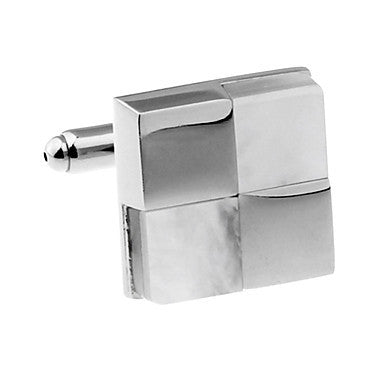 Men's Alloy Four Squares Cufflink(1 pair)