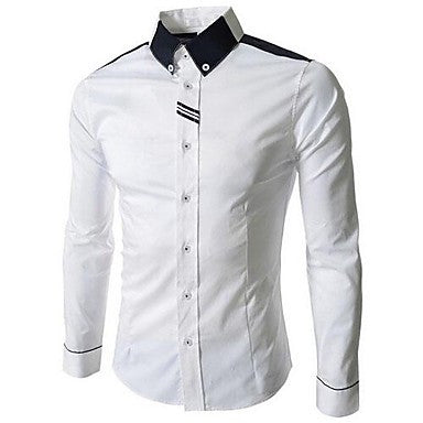 Men's New Spring Fashionable Ribbon Shirt