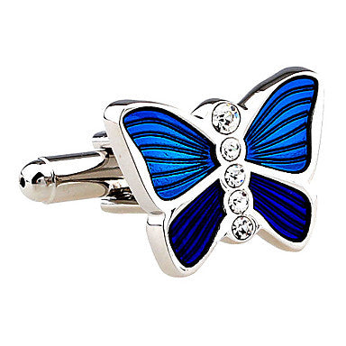 Beautiful Butterfly Shape Cufflinks