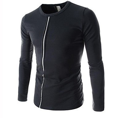 Men's Casual Fashion Long Sleeve T Shirt (More Colors)