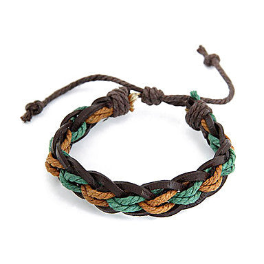 European Style Multicolor Leather Bracelet
