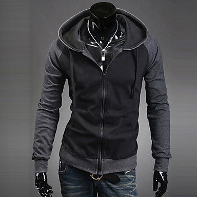 Men's Color Matching Hoodie