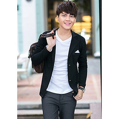 Men's Fashion Tailor Collar Cardigan Coat
