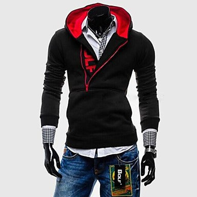 Men's Casual Fashion Sport Thick Hoodie Sweater