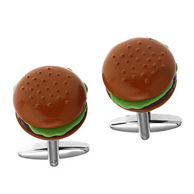 Men's Hamburger Cufflinks(2 PCS)