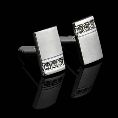 Men's Metal Cufflinks Gift Party Wedding Best Man Shirt Cuff Link