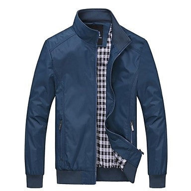 Men's New Casual Long Sleeve Jacket