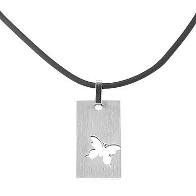 Fashion Hollow Out Butterfly Men's Pendant Necklace(1 Pc)