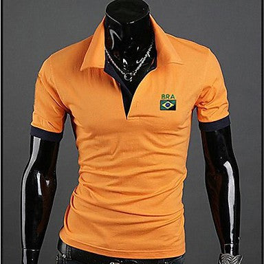 Men's Football World Cup Fitted Polo Shirt