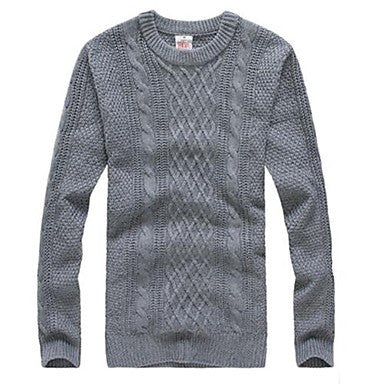 Men's Casual Fashion Knitwear Sweater A
