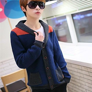 Men's Casual Fashion Slim Sweater Coat